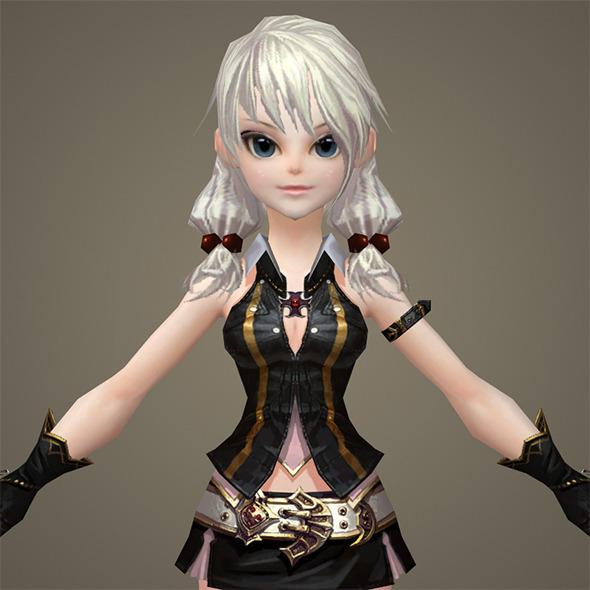 Toon character Mileena - 3DOcean Item for Sale