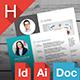 Resume/CV Template - GraphicRiver Item for Sale
