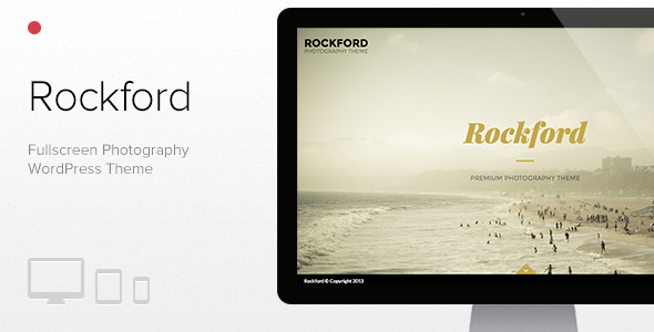 Rockford – Fullscreen Photography WordPress Theme