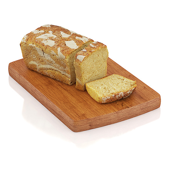 Sliced wholemeal bread - 3DOcean Item for Sale