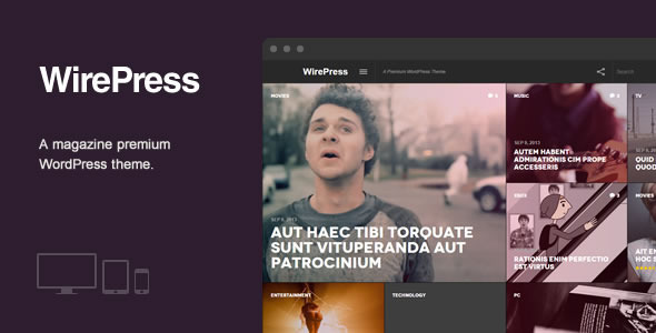 WirePress – Magazine & Blog WordPress  Theme