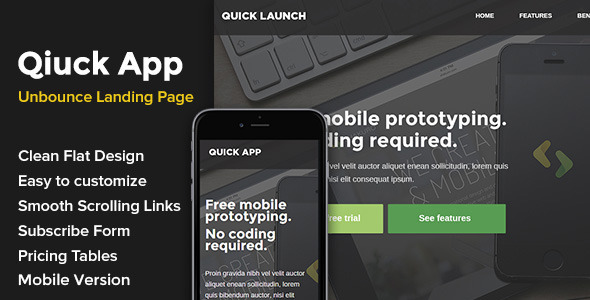 QuickApp Unbounce Landing Page - Unbounce Landing Pages Marketing