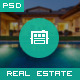 Houseland - Real Estate PSD Template