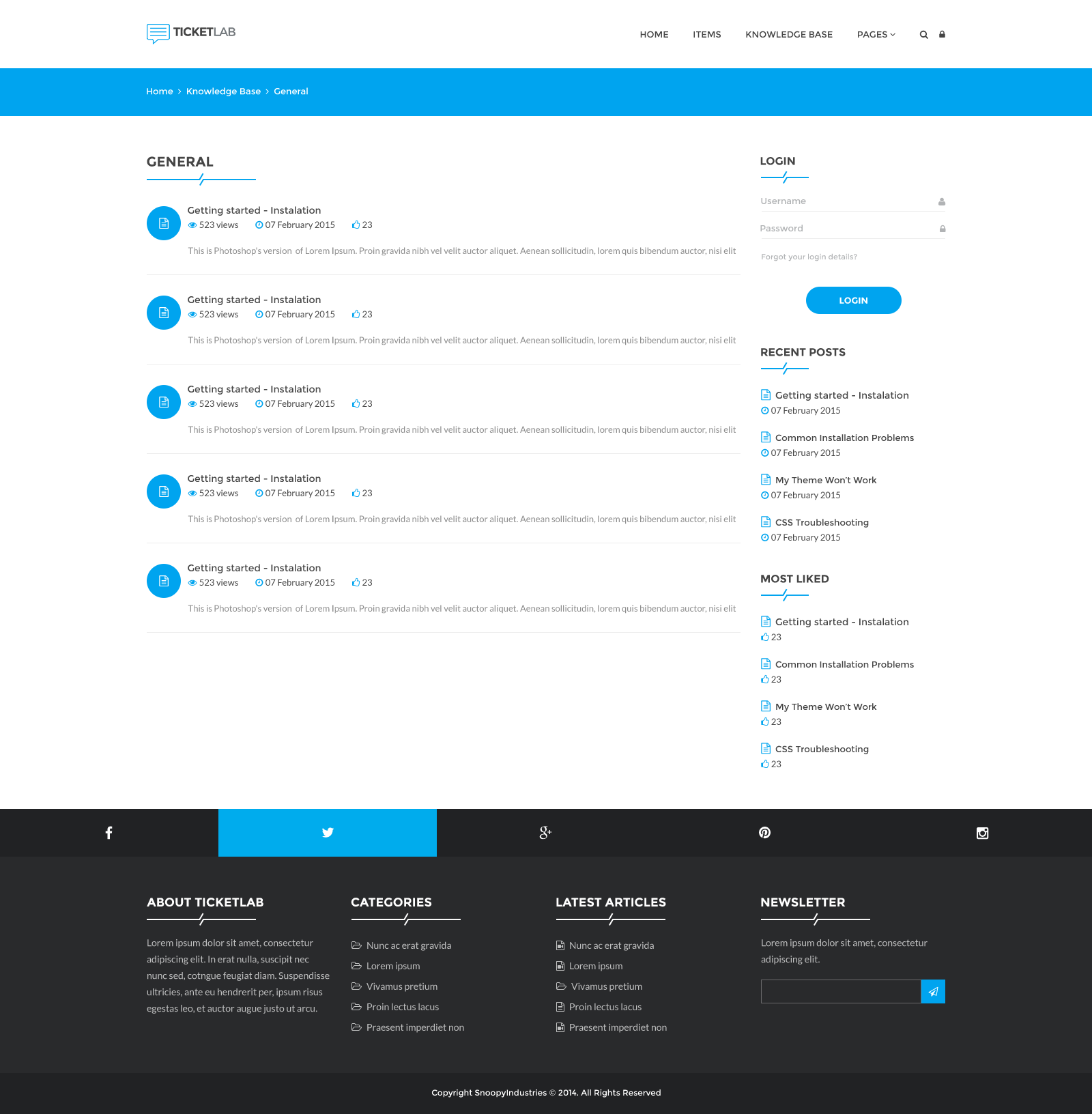Ticketlab helpdesk support and knowledge base psd template by 00bannerg 01indexg 02index copyg 03index copyg 04loginregister copyg 05knowledge base copyg 06knowledgebasecategory maxwellsz