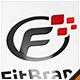 Fit Brand Letter F Logo