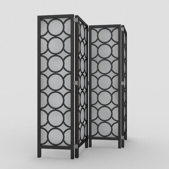 Room Divider-1 - 3DOcean Item for Sale