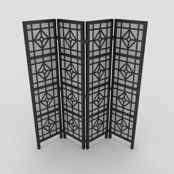 Room Divider-2 - 3DOcean Item for Sale