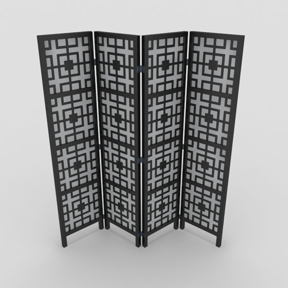 Room Divider-4 - 3DOcean Item for Sale