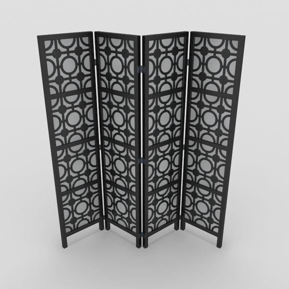 Room Divider-5 - 3DOcean Item for Sale