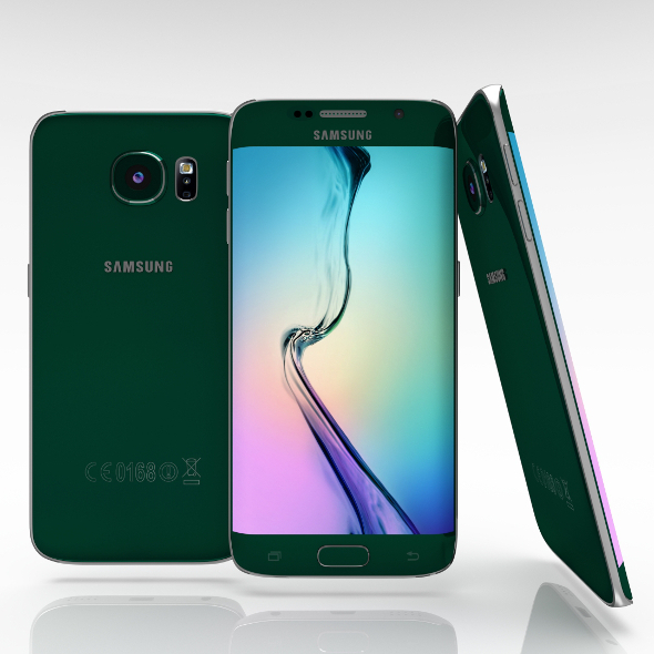 Samsung Galaxy S6 Edge Emerald Green - 3DOcean Item for Sale
