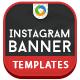 Instagram Banner Templates - 12 Designs - GraphicRiver Item for Sale