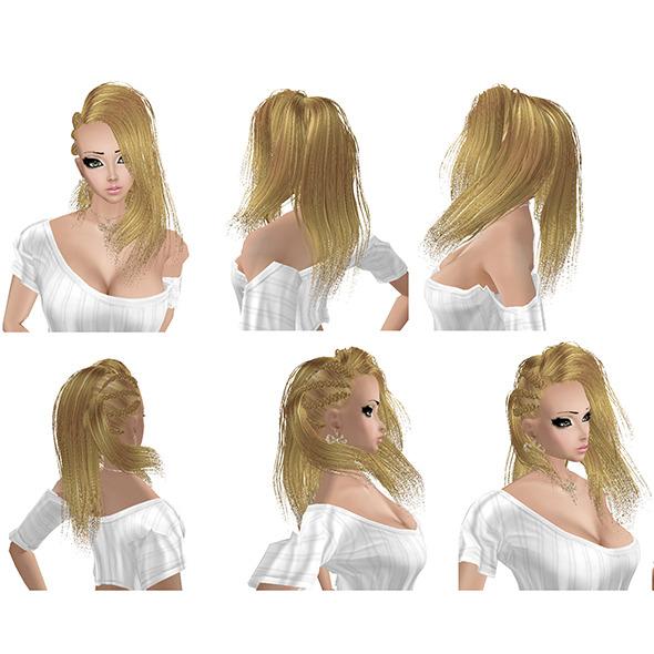 Hair Dash - 3DOcean Item for Sale