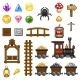 Mine Assets - GraphicRiver Item for Sale