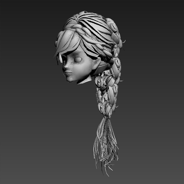Hair Rock - 3DOcean Item for Sale