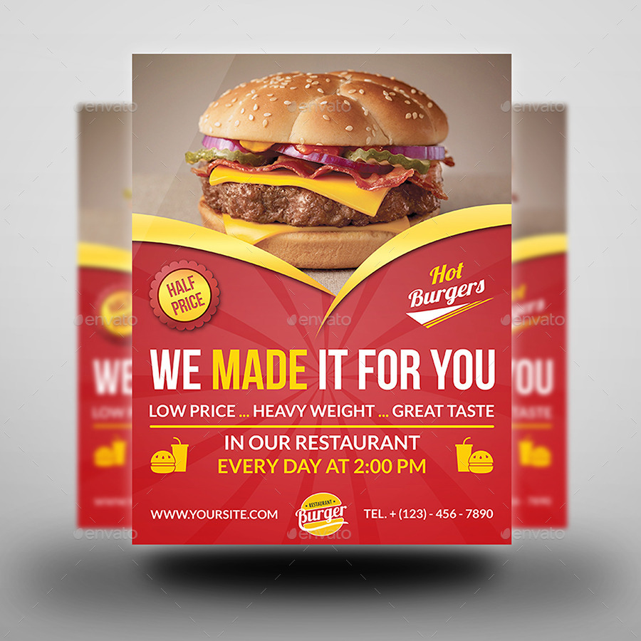 restaurant flyer templates free