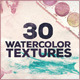 30 Watercolor Textures - GraphicRiver Item for Sale