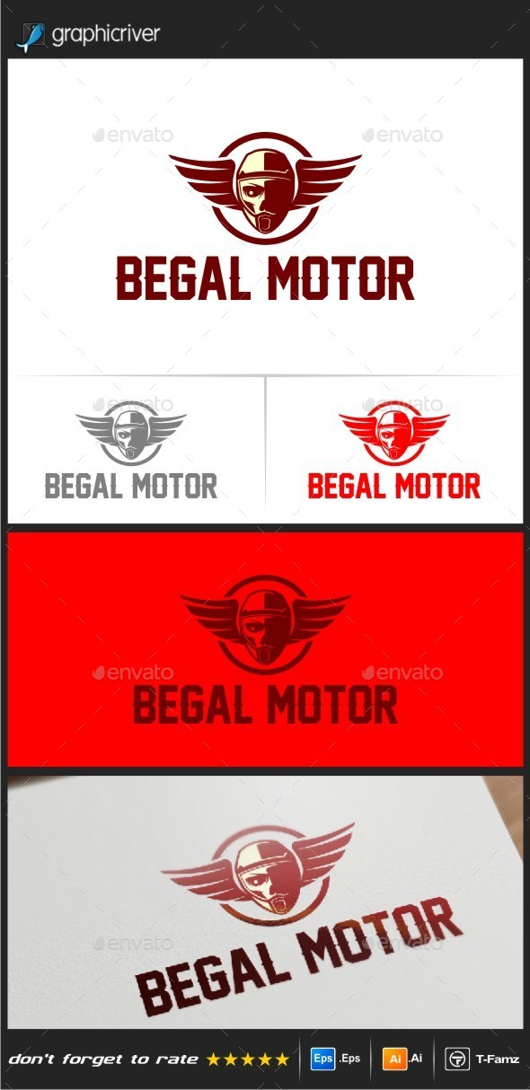 Begal Motor Logo Templates - Objects Logo Templates