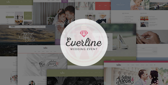 Everline – Wedding Events HTML Template