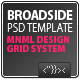 Broadside PSD Template - ThemeForest Item for Sale