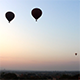 Hot Air Balloons in the Air - VideoHive Item for Sale