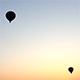 Hot Air Balloons in the Air at Sunrise - VideoHive Item for Sale