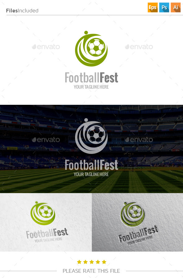 Football Logo - Abstract Logo Templates