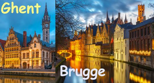 Bruges and Chent, Belgium
