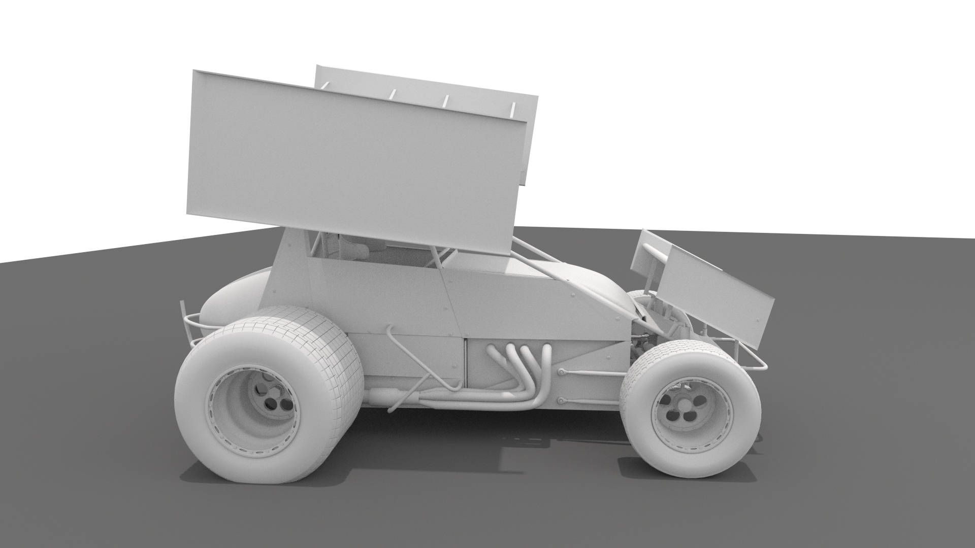 Sprint Car by tufgi | 3DOcean