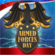 Armed Forces Day Template - GraphicRiver Item for Sale