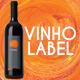 Vinho Wine Label - GraphicRiver Item for Sale