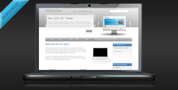 OSComm – Online Store WordPress Theme