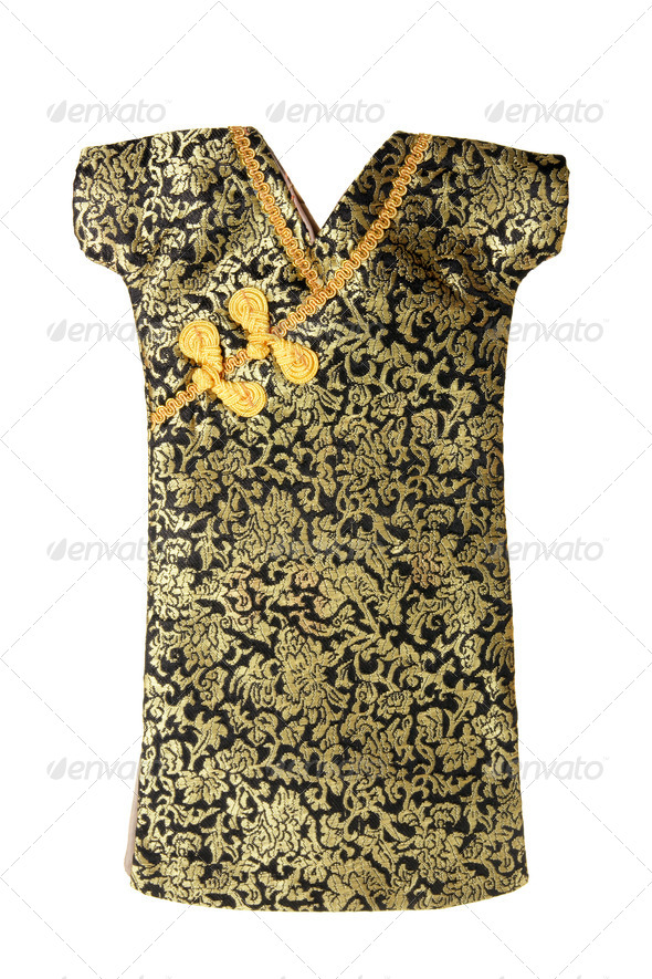 Mandarin Gown - Stock Photo - Images