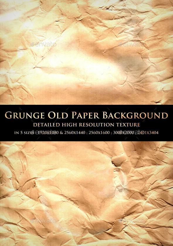 Grunge Old Paper Background