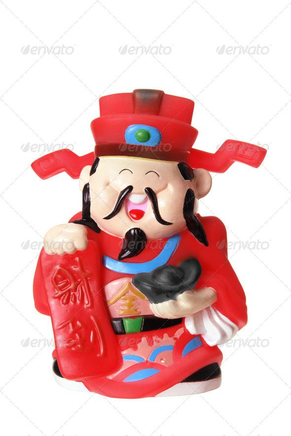God of Prosperity - Stock Photo - Images