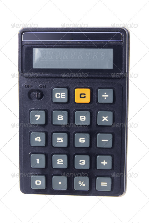 Pocket Calculator - Stock Photo - Images