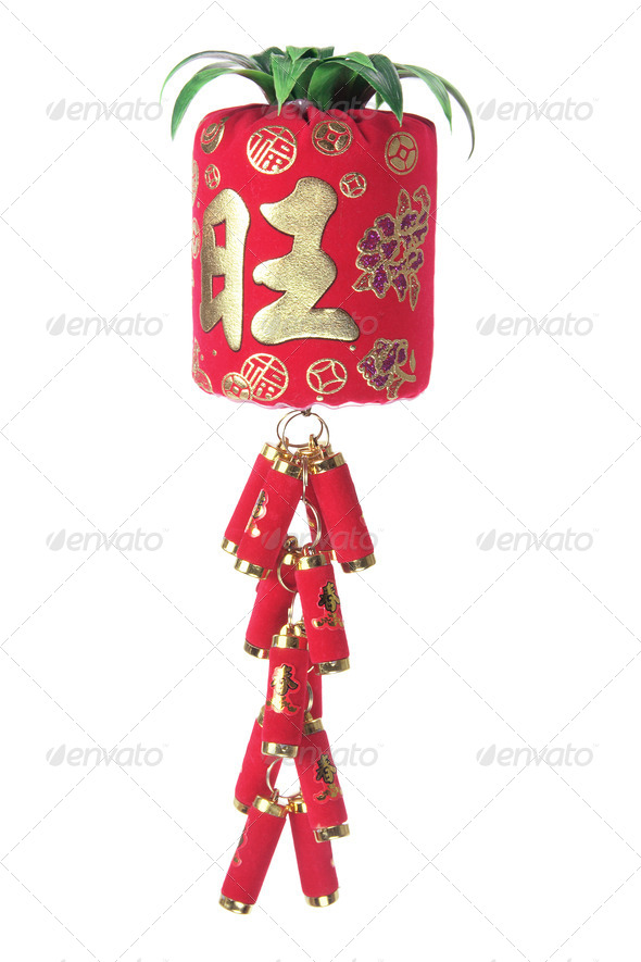 Chinese New Year Decoration - Stock Photo - Images