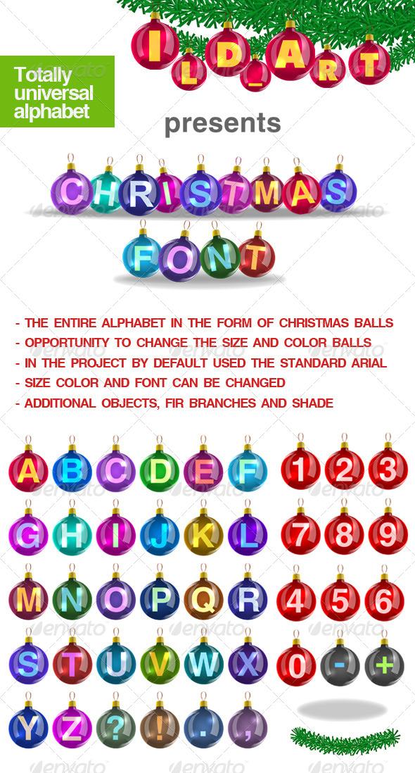 Christmas balls - Miscellaneous Graphics