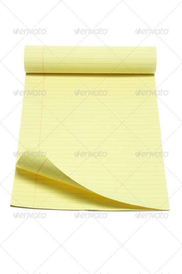 Note Pad - Stock Photo - Images