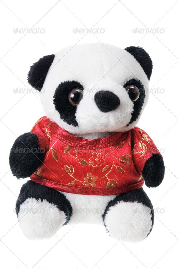 Panda Soft Toy - Stock Photo - Images