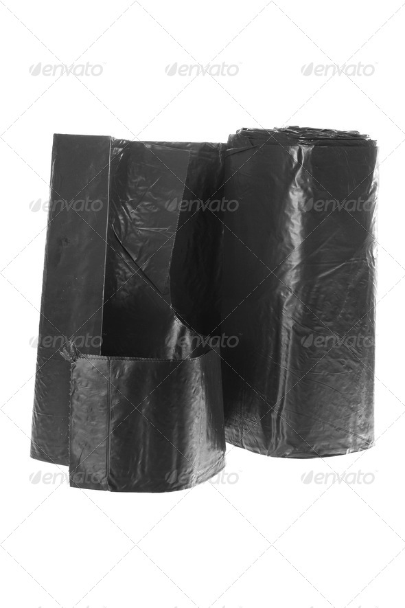 Garbage Bags - Stock Photo - Images