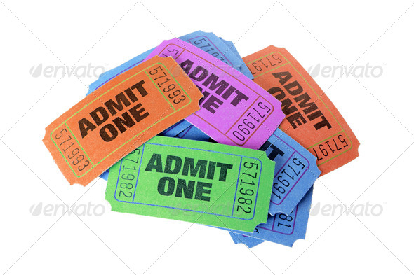 Movie Tickets - Stock Photo - Images