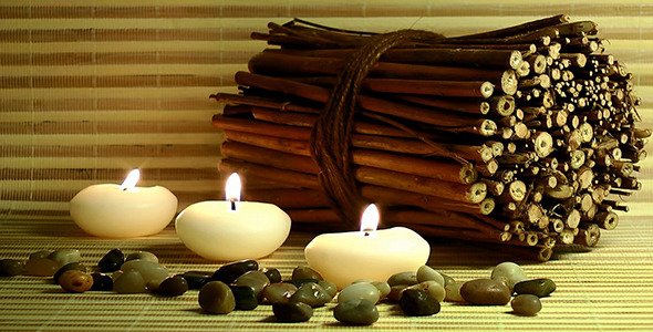 candles stones scented wood pieces by catsence videohive