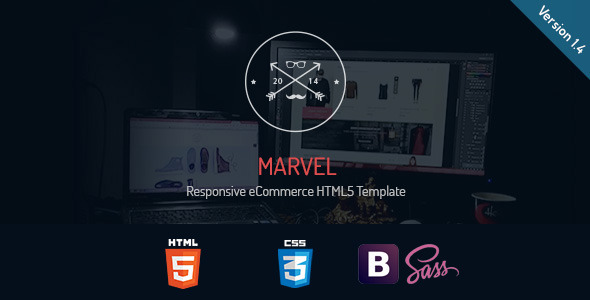 Marvel - Responsive eCommerce HTML5 Template - Shopping Retail