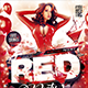 Flyer Red Party Konnekt - GraphicRiver Item for Sale