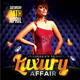 Luxury Affair Party Flyer Template - GraphicRiver Item for Sale