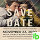 Save The Date Flyer - GraphicRiver Item for Sale