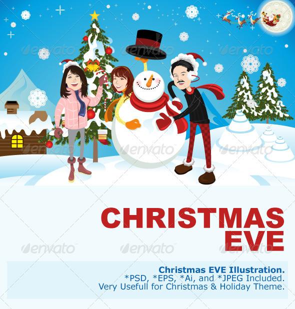 Christmas Eve - Christmas Seasons/Holidays
