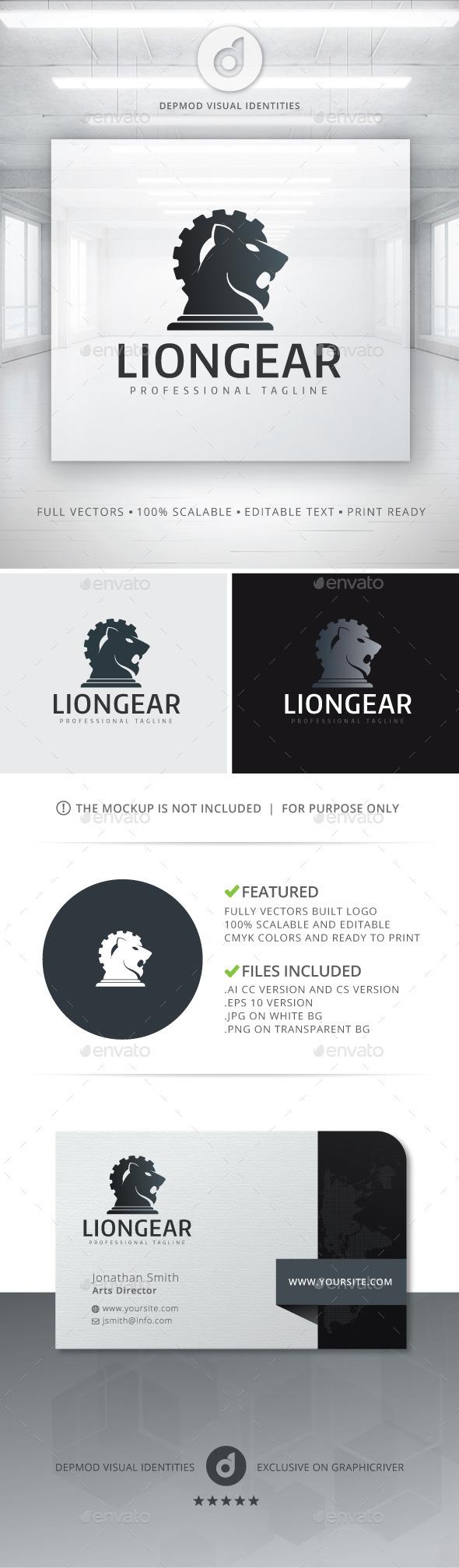 Lion Gear Logo