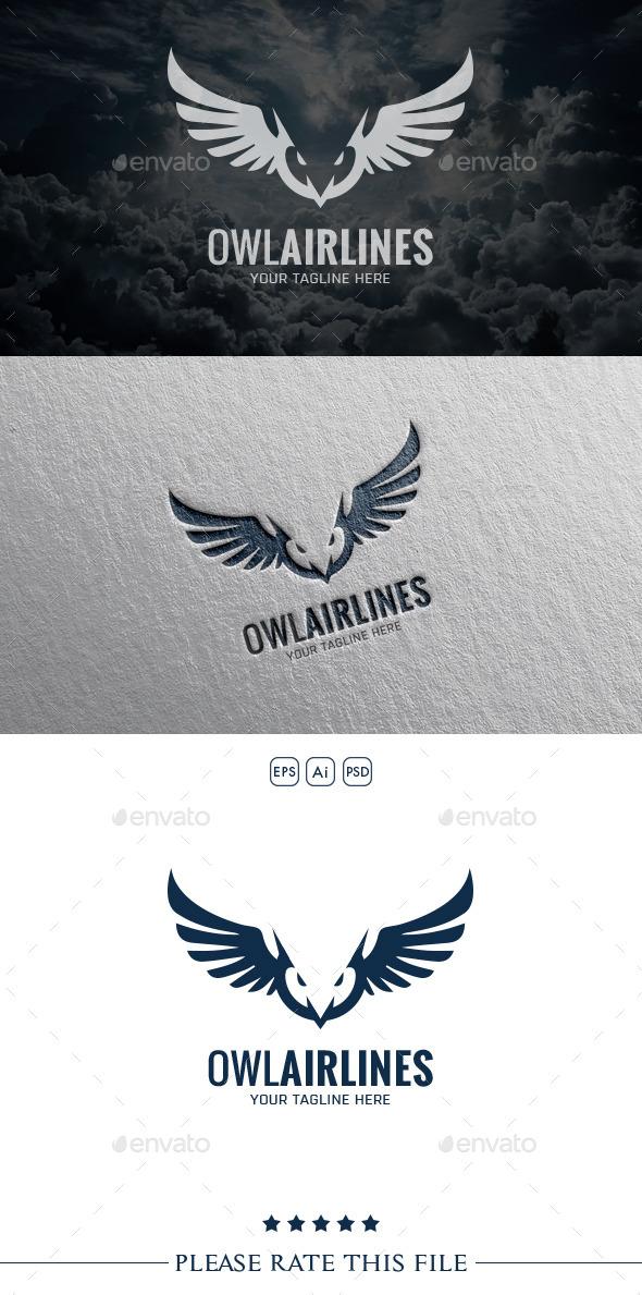 Owl Logo - Vector Abstract