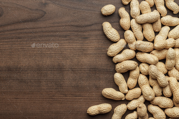 Peanuts Background - Stock Photo - Images
